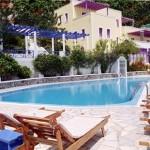 Santorini hotel Antinea